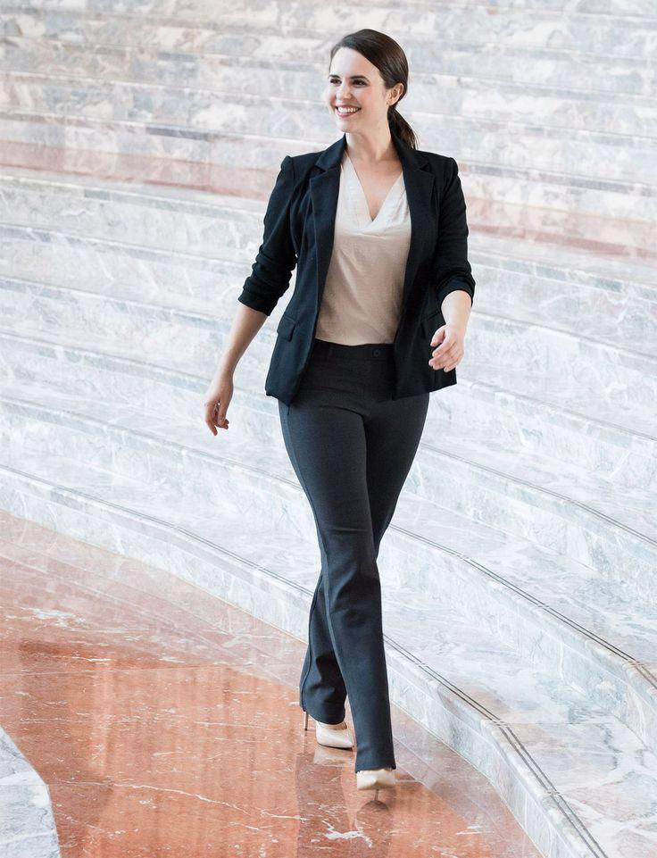 Black dress yoga pants 28