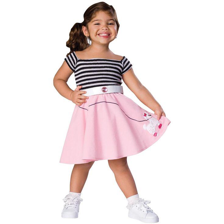 50s Girl Costume Toddler