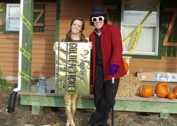 Костюм на Хэллоуин для пары