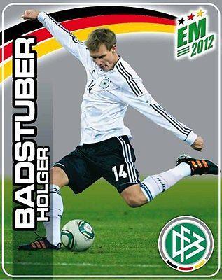 Ferrero Sammelbilder Fußball EM 2012 Nr. 10 Holger Badstuber Action Hanuta/Duplo