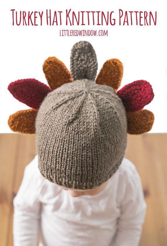 Thanksgiving Turkey Hat Knitting Pattern | Crochet & Knitting ...