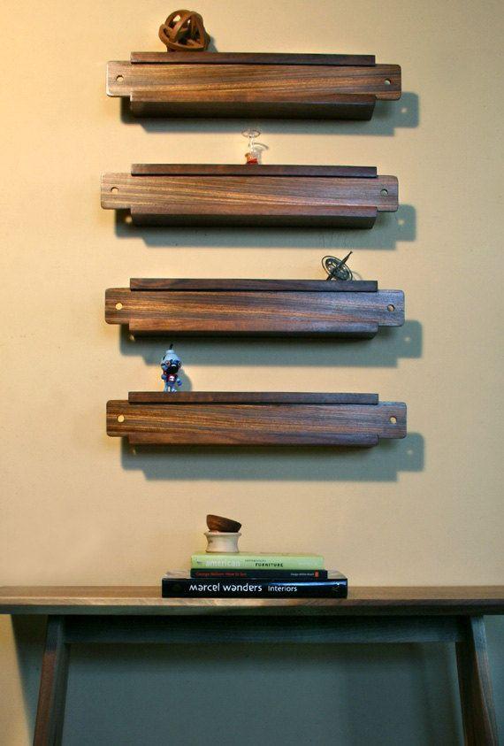 Слайд Box стене стеллажи / Декор - Набор из 4 / cenzo конструкций: