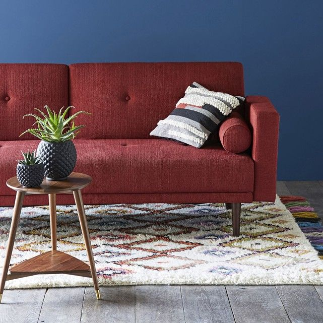 Canape Convertible 3 Places Tuske Love Seat Furniture Home Decor