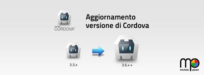 Aggiornare la versione di Apache Cordova per un progetto Android via CLI (Command Line Interface) su Windows.