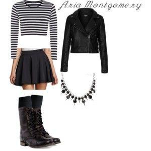 aria montgomery style | Tumblr