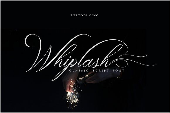 Whiplash Classic Calligraphy by Weasel Foundry on @creativemarket