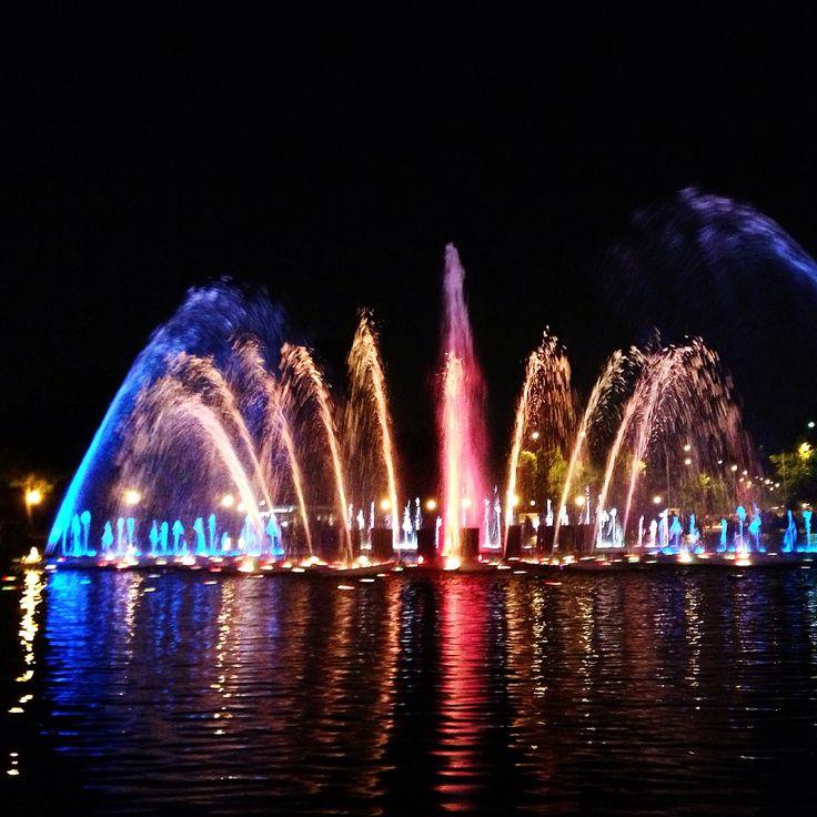 Музыкальный фонтан в парке Горького