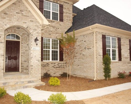 1000 images about exterior home ideas on pinterest for Brick and stone exterior ideas