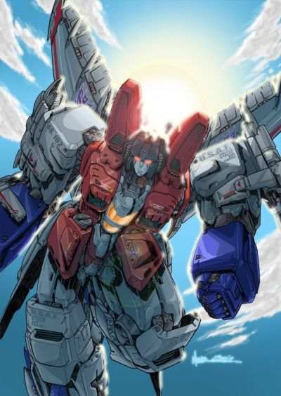 The best Starscream piece I've ever seen. Looks like he could wreck Megatron in this shot, cuz lets face it, he's always wanted to!