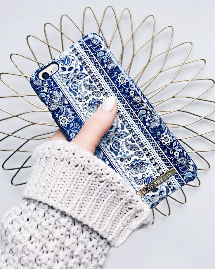 Boho by @fannykyl - Fashion case phone cases iphone inspiration iDeal of Sweden #Bohemic #blue  #fashion #inspo #iphone