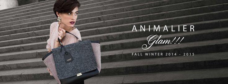JADISE...animalier glam!!! #jadise #fallwinter20142015 #madeinitaly #glam #bags #love #chic #fashion #moda  #cool