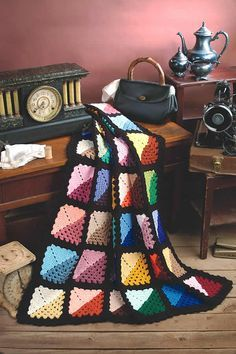 """Free pattern for """"Granny's Attic Afghan""""!"""