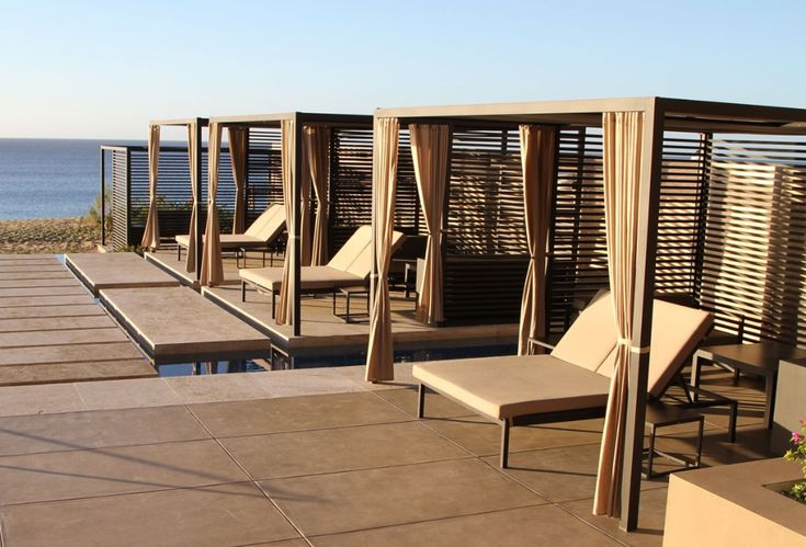 Kettal Structures Daybeds Pavilions Outdoor