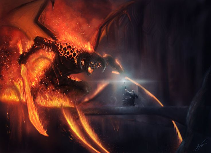LOTR: Balrog by *Arkis on deviantART