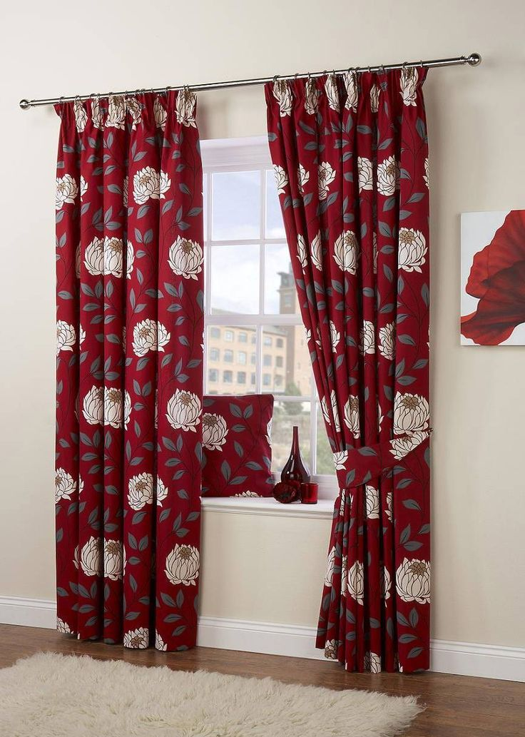 best 25 red and white curtains ideas on pinterest red kitchen curtains checker curtains and. Black Bedroom Furniture Sets. Home Design Ideas