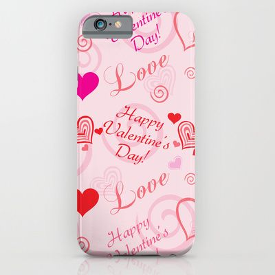 Happy Valentine's Day Phone Cases by refreshdesign !