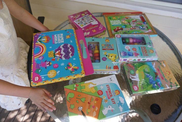 Tiger Tribe Activity Kits - portable creative play sets http://bit.ly/tigertribegiveaway