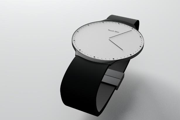 Touch Skin Watch Beyaz