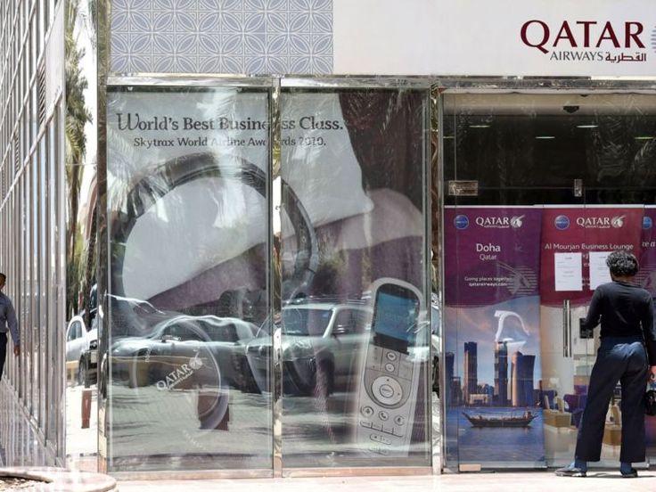 Chaos in Qatar as Arab states cut travel links