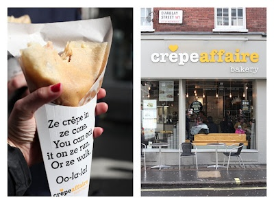 I love crepe affaire, London