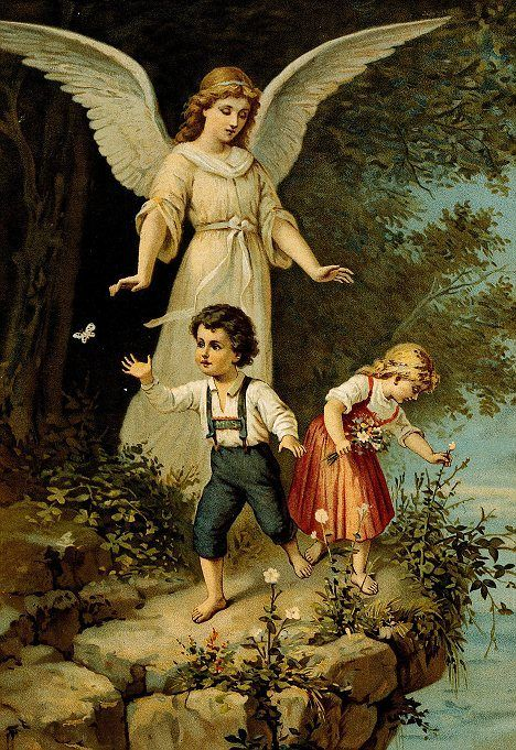 Monday after Mass:  Mother's Prayer to the Guardian Angels