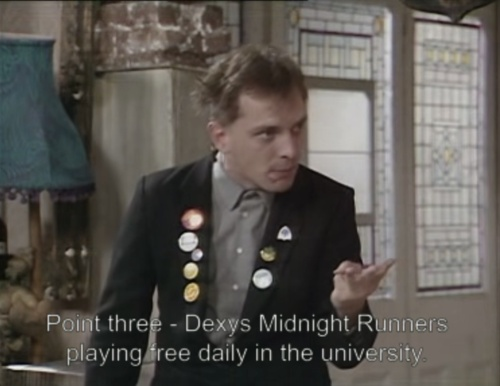 Point Three - Rik Mayall on the Young Ones