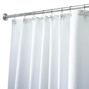 Fixed Length Curved Shower Curtain Rod