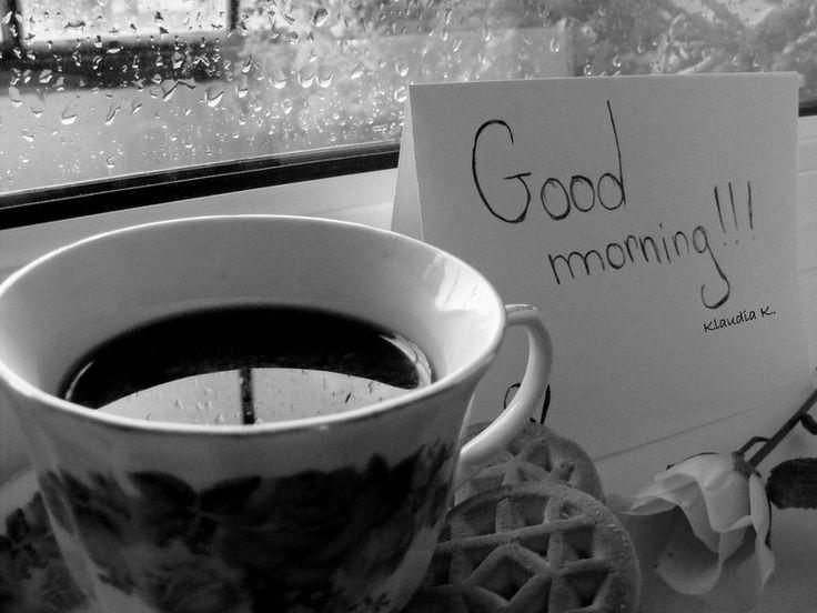 A Cold, Rainy Morning...