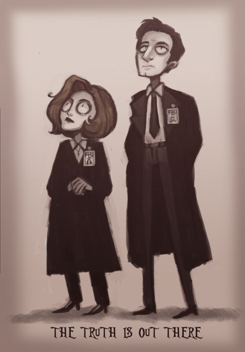Tim Burton style by muffinpines, tumblr