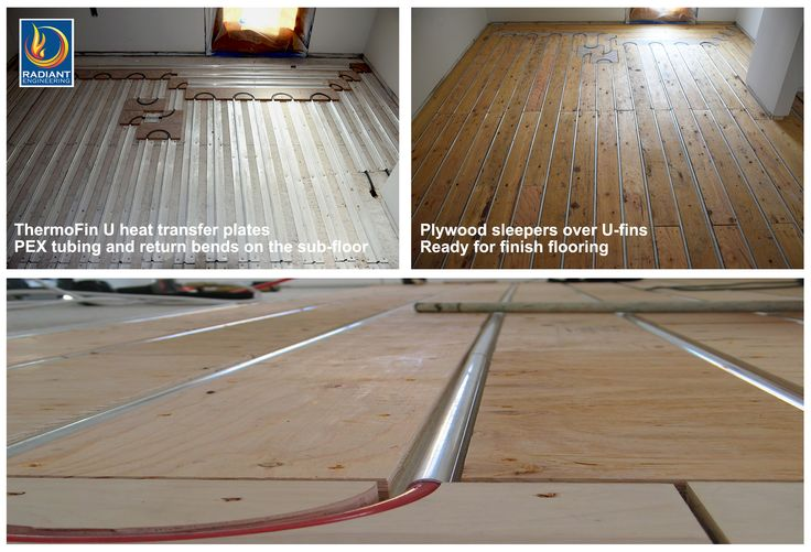 1000 images about home owners installing radiant heating for Best flooring for hydronic heat