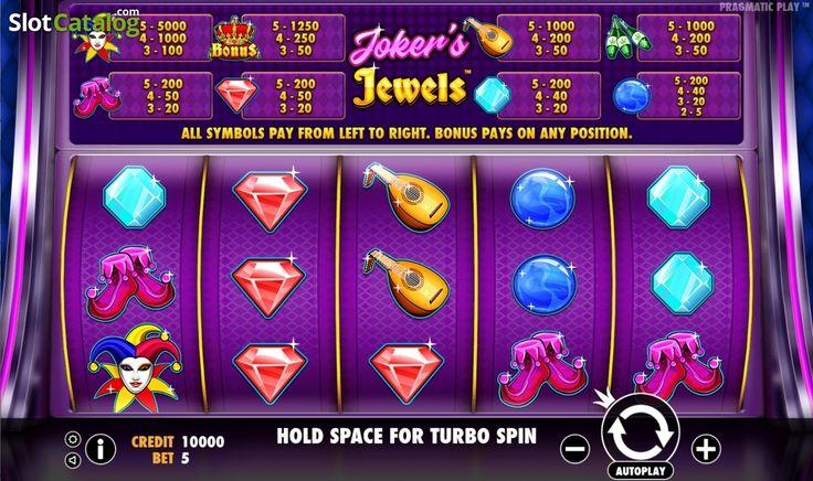 Main game. Joker's Jewels (Video Slot from Pragmatic Play