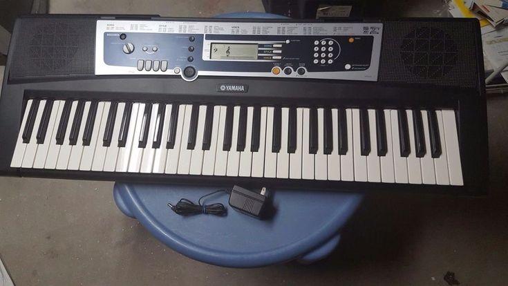 1000 ideas about yamaha electric keyboard on pinterest for Yamaha ypt 210 manual