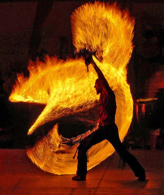 fire dance  By Betsy Norris. Shot on July 10, 2009 with a Nikon D70.