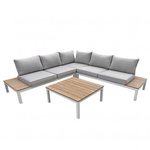 Garten Lounge Set Valentina 4 Tlg Kaufen Home24 Koffietafel Tuin Ideeen Lounge