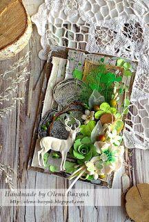 My handmade Olena Bazyuk: Листівка. Му Forest