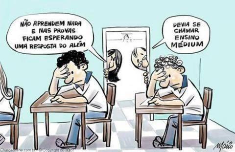 Ensino Médium                                                                                                                                                                                 Mais
