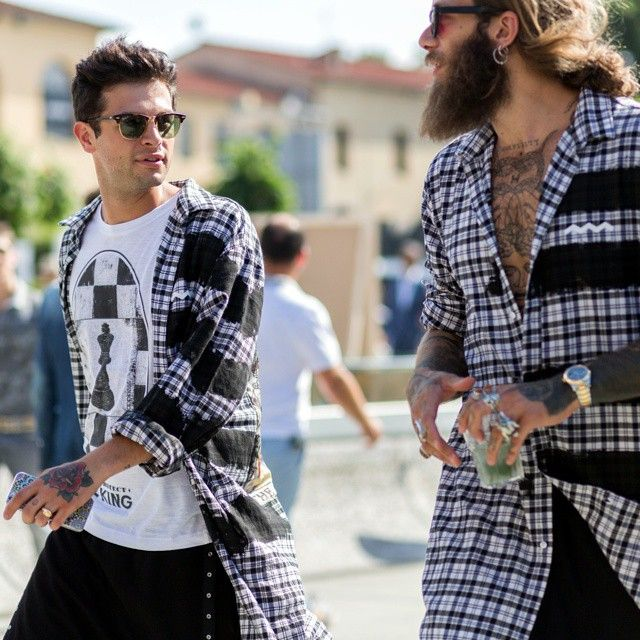 Iconize and Andrea Marcaccini in Happiness FW15 at Pitti 88