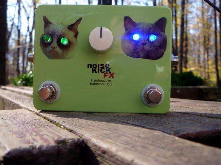 El pedal de sonidos de gatos malvados  www.pedaleras.com