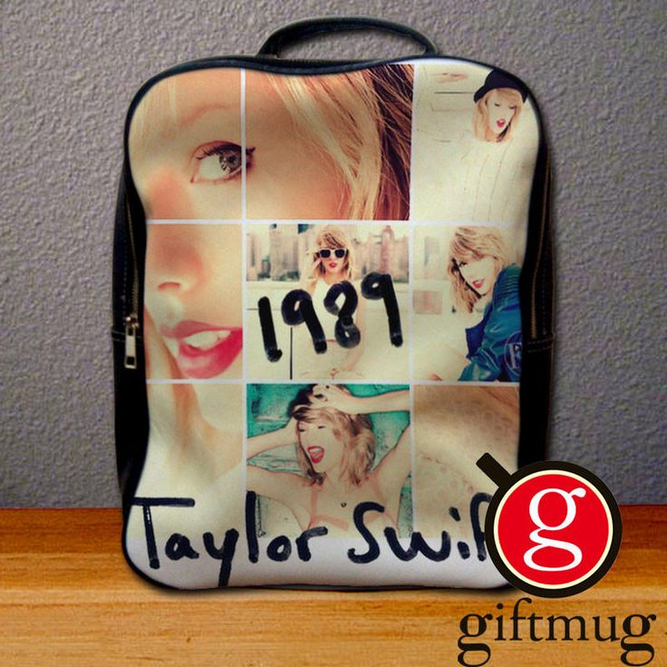 Taylor Swift 1989 Collage Backpack for Student