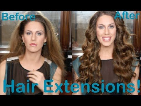 Big Sexy Hair Extensions Tutorial + Buying Guide! (Estelle's Secret, Mit...