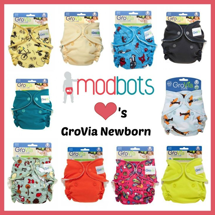 Ridiculously cute Grovia nappies. So fluffy and soft inside!