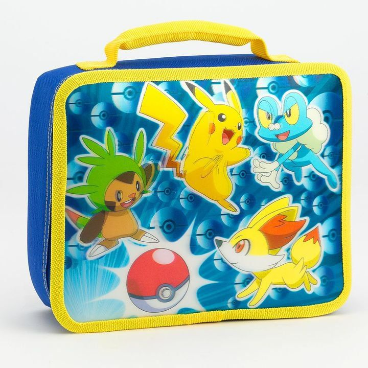 Pin for Later: This Pokémon Gear Will Get Your Kids Excited to Go Back to School Pokémon Character Lunch Box Pokémon Character Lunch Box ($16, originally $20)