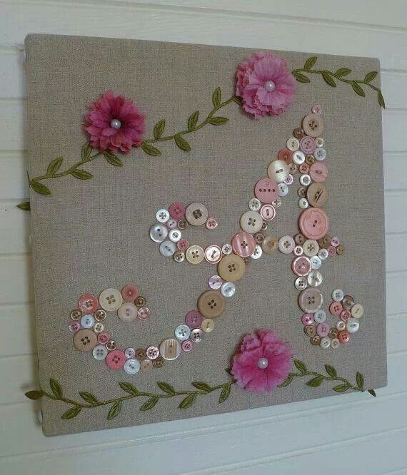 Very pretty, but I would use some different flowers maybe even make the flowers out of buttons?