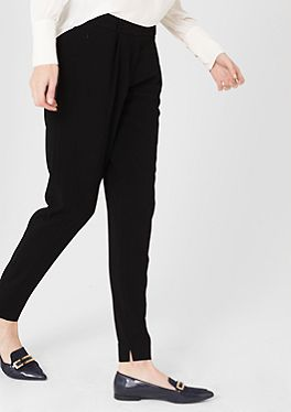 Jogging Pants aus Crêpe im s.Oliver Online Shop