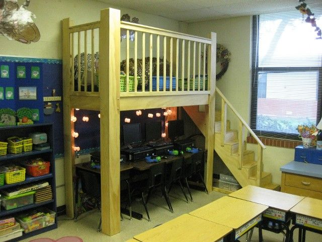 Classroom Loft Ideas ~ Best ideas about reading loft on pinterest kids