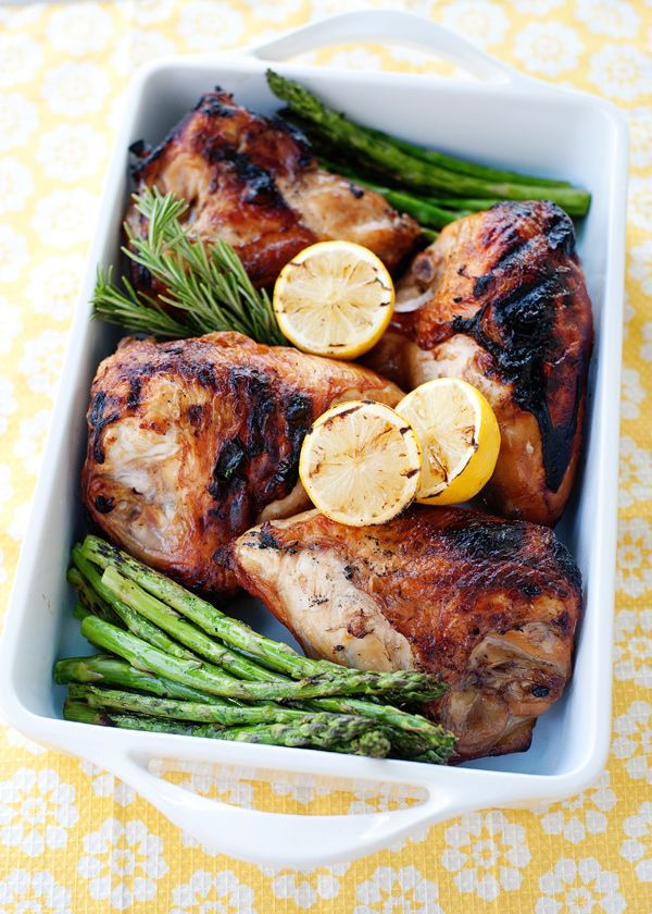 Sweet Tea Brined Grilled Chicken #clean eating ( Clean up this recipe by substituting honey or stevia for the brown sugar - but since the sugar is in the brine, not a lot will transfer to the chicken except a little sweet taste - so probably ok anyway! )