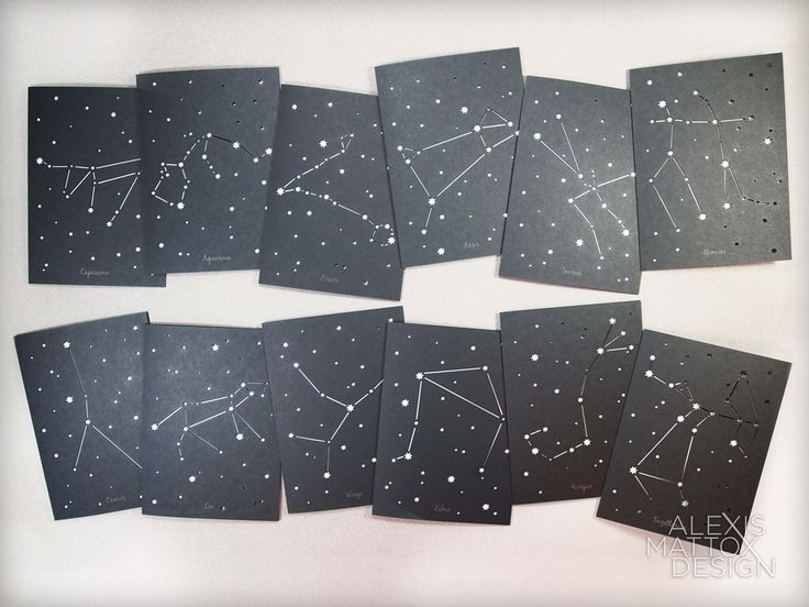 Free Printable Constellation Cards Http Www