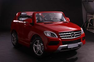 VENTA-VEHICULO-NINOS-Mercedes-ML350-2plazas-Red-RC-D