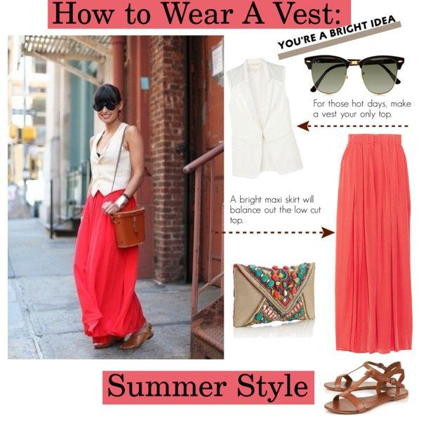 Vest + Maxi Skirt