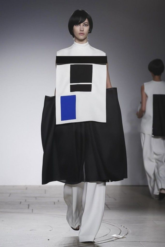 London College of Fashion Ready to Wear Fall Winter 2015 in London- Maria Piankov- Deux Hommes